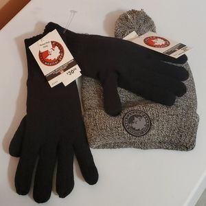 Canada goose hat and glove combo nwt
